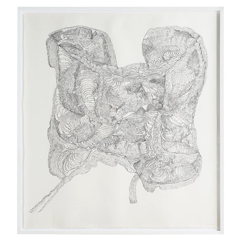 """""""Untitled #1"""" Drawing by Polly Yates For Sale"""