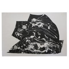 """""""Untitled 11/15"""" Lithograph by Lucy Siekman"""