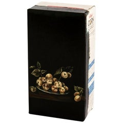 Untitled #11 From Biotá Series, Still-Life Oil Painting on Cardboard Box