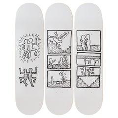 Untitled '1981' Skateboard Decks after Keith Haring