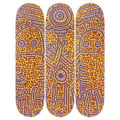 Untitled '1984' Skateboard Decks after Keith Haring