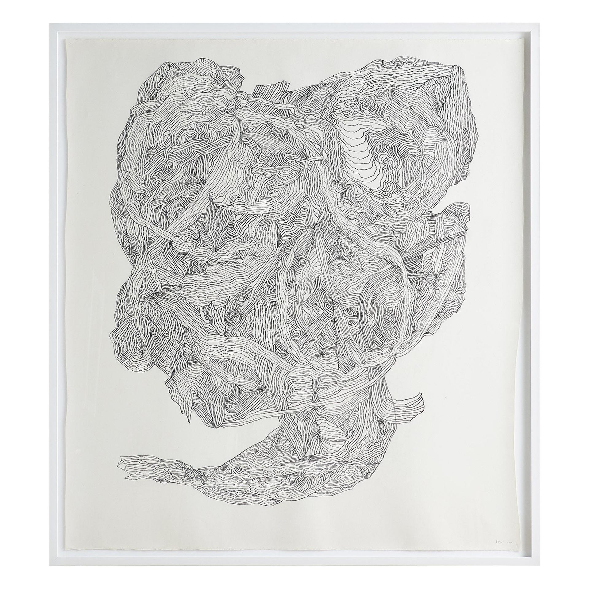 """Untitled #2"" Drawing by Polly Yates"