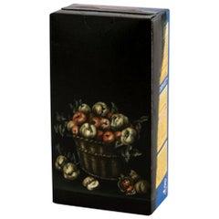 """Untitled #6"" from ''Biotá series, Still Life Painting on Cardboard Box"