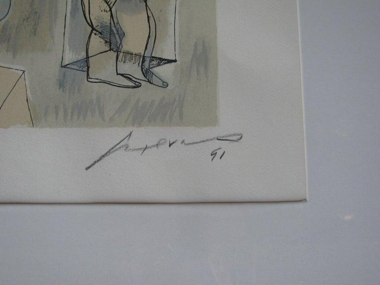 Modern Untitled by Jose Luis Cuevas For Sale