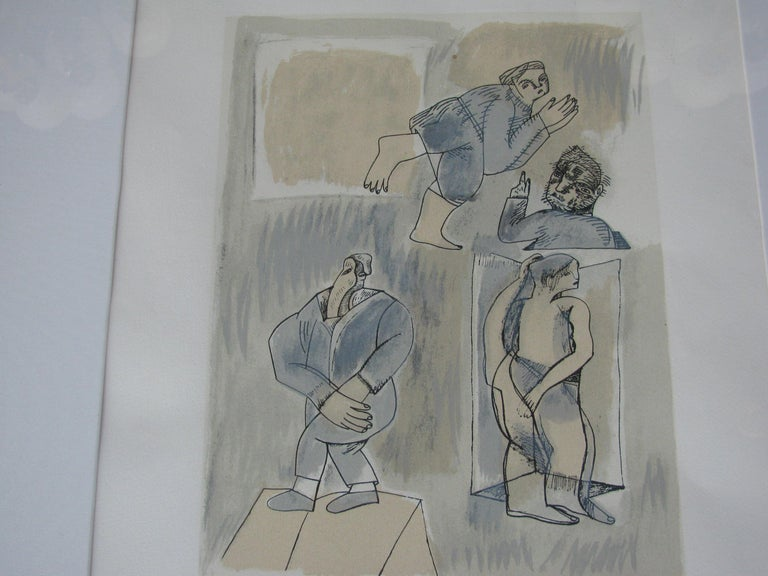 Mexican Untitled by Jose Luis Cuevas For Sale