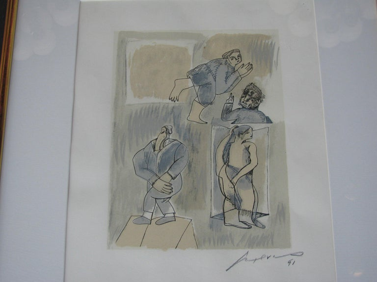 Untitled by Jose Luis Cuevas In Good Condition For Sale In Los Angeles, CA