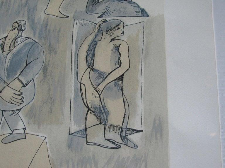 Paint Untitled by Jose Luis Cuevas For Sale