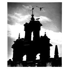 Untitled 'Church Spire, Seville', Silver Gelatin Print, circa 1930