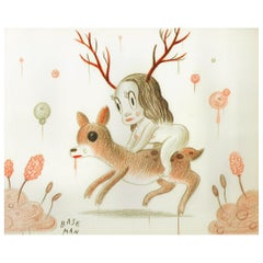 Untitled, Drawing by Gary Baseman, 2006
