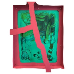 """""""Untitled"""" Frame Drawing by Serban Ionescu, 2019"""
