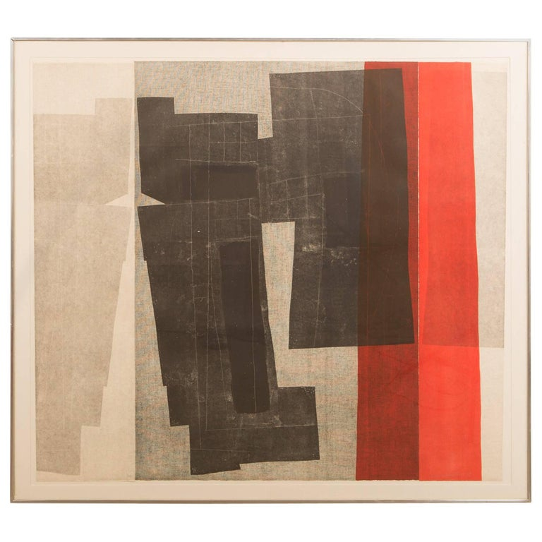 """Untitled from the """"Double Imagery"""" suite by Louise Nevelson For Sale"""