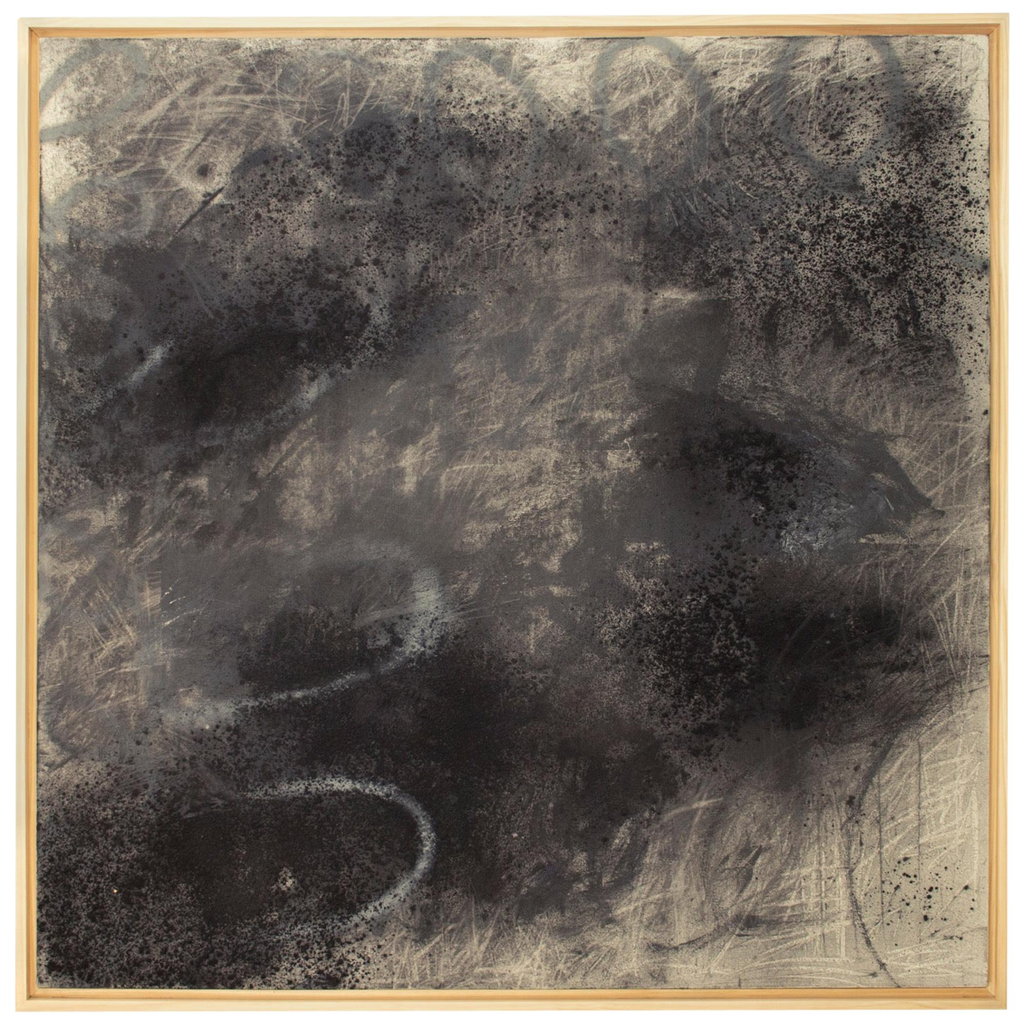 Untitled II Mixed-Media on Canvas by Sarah Dupré