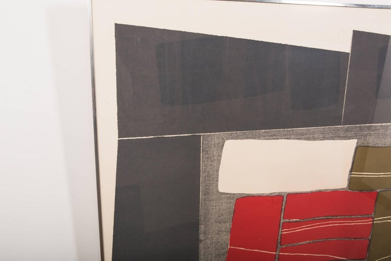 Rare and very early lithograph by Louise Nevelson from the Double Imagery suite, an experimental collaborative project at Tamarind Institute in 1968. From the edition of 10, printed at the Tamarind Institute, Los Angeles. Ex. coll. the Albright-Knox