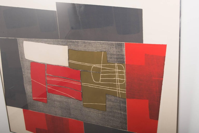 Modern Untitled III, from the Double Imagery suite, by Louise Nevelson For Sale