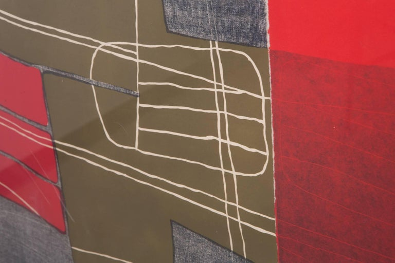 Mid-20th Century Untitled III, from the Double Imagery suite, by Louise Nevelson For Sale