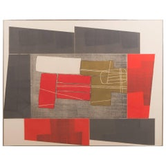 Untitled III, from the Double Imagery suite, by Louise Nevelson