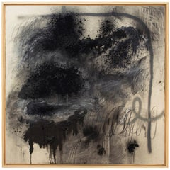 Untitled III Mixed Media on Canvas by Sarah Dupré