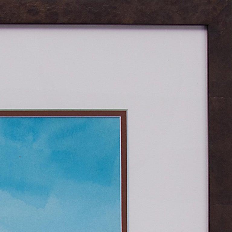 Untitled 'Native American Man, Taos Pueblo' Original Framed Painting For Sale 1
