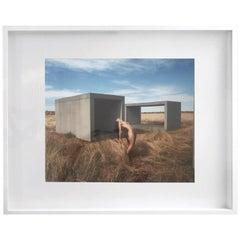 Untitled Nude at Marfa, Framed