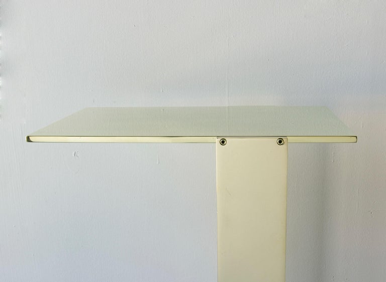 American Untitled Side Table Polished Unlacquered Brass Small Accent, End or Drink Stand For Sale