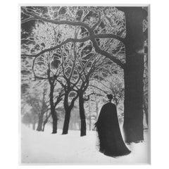 Untitled 'Solarized Landscape', Framed Vintage Print