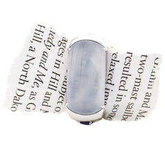 Men's Jade Ring of Semi-Transparency Is Exotic One of a Kind Rarity