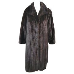 Brand New Ranch Mink Fur Coat (Size 14-XL)