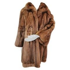 Unused Sable fur coat size 20-22 XXL