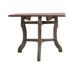 Unusual 18th Century Northern Swedish Baroque Table