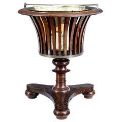 Unusual 19th Century Dutch Marquetry Wine Cooler Ice Bucket
