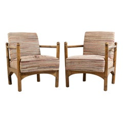 Unusual Armchairs Swedish Grace from the Early 20th Century
