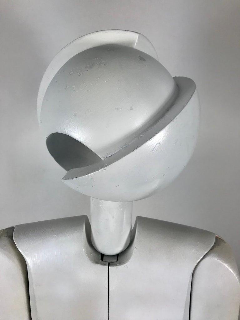Fiberglass Unusual Bauhaus Style Cubist Articulated Mannequin after Oskar Schlemmer For Sale