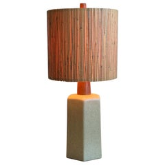 Unusual Ceramic Lamp by Martz