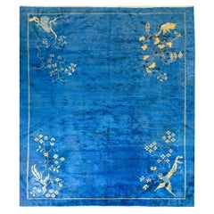 Unusual Chinese Art Deco Rug