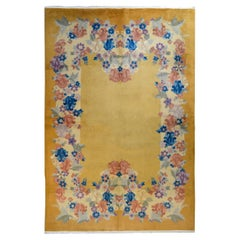 Unusual Chinese Art Deco Rug