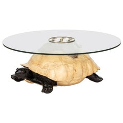 Unusual Coffee Table in the Form of a Turtle by Anthony Redmile, London
