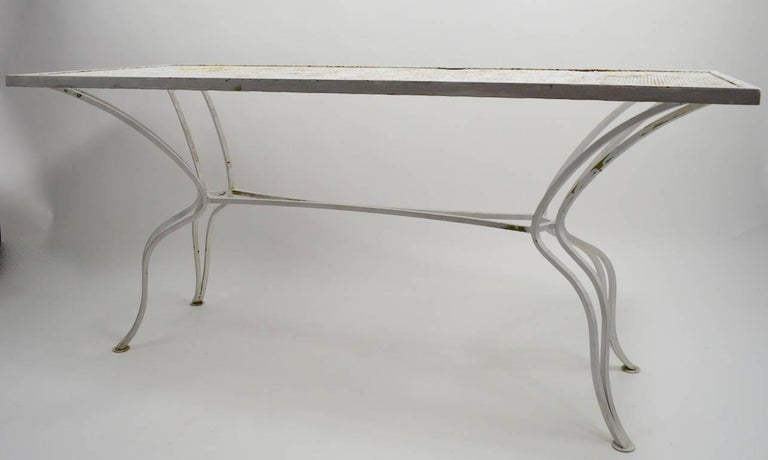 Unusual Console Table Attributed to Salterini For Sale 4