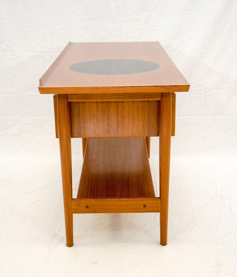 Unusual Furniture For Sale: Unusual Danish Teak Buffet Or Console Table By Arne Vodder