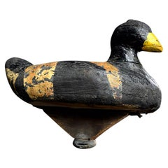Unusual English 19th Century Decoy