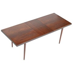 Unusual Extendable Rosewood Dining Table, Denmark, 1960