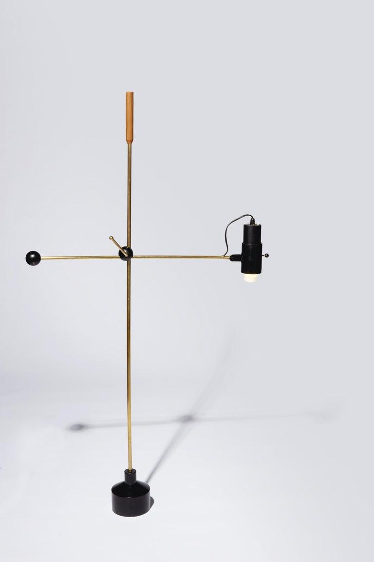 Finnish Unusual Floor Lamp by Tapio Wirkkala For Sale