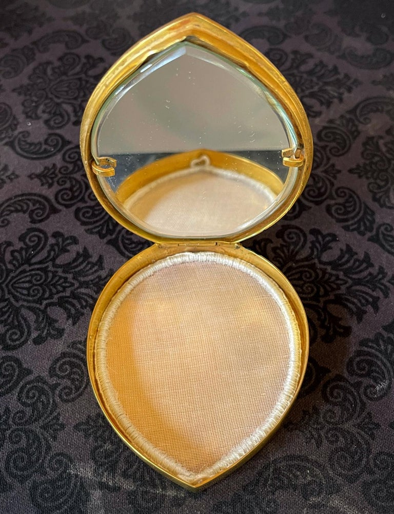 Unusual French Gilt Bronze Box Line Vautrin For Sale 2