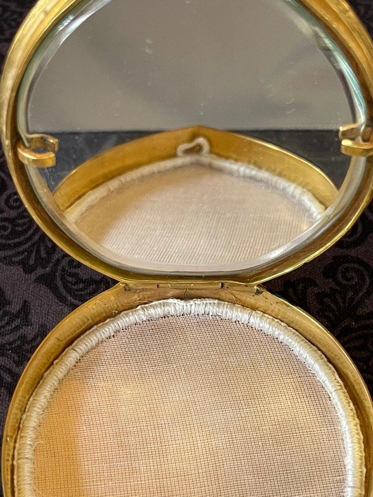 Unusual French Gilt Bronze Box Line Vautrin For Sale 3