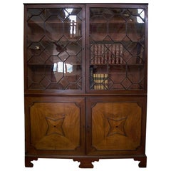 Unusual George III Mahogany Library Bookcase
