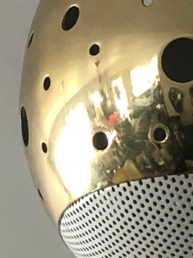 Mid-Century Modern Unusual Lightolier Pendant For Sale