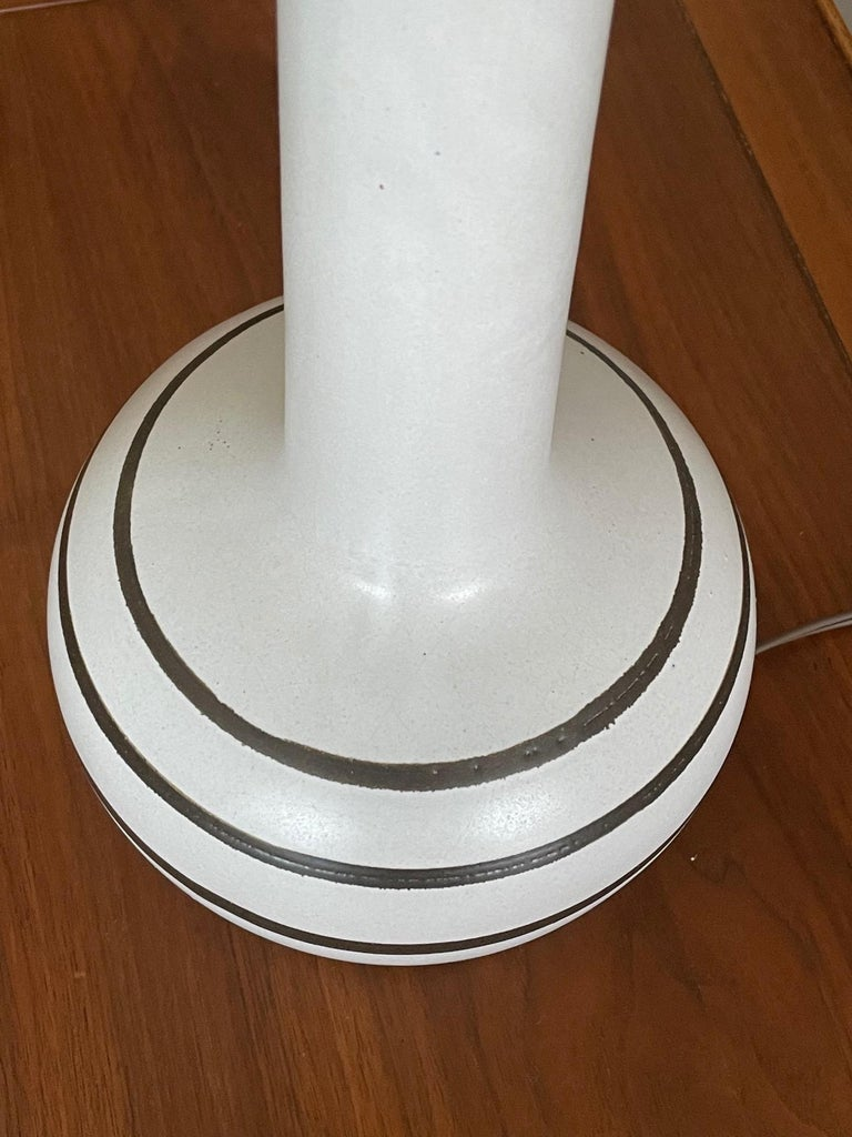Unusual Martz Lamp with Original Shade 2