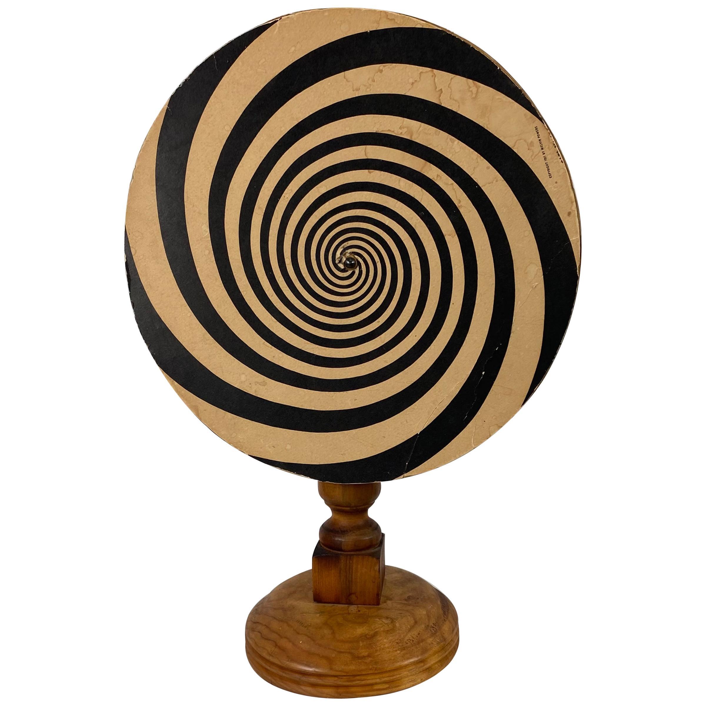 Unusual Mesmerizing Hand Built Hypnotic Wheel, by Melvin Powers, 1951