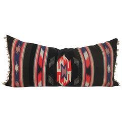 Unusual Mexican Serape Pillow