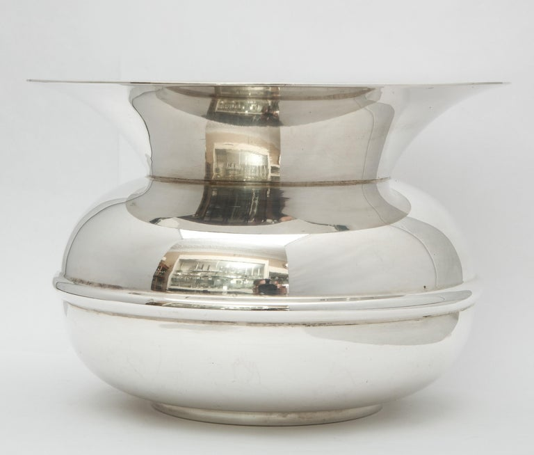 Unusual Mid-Century Sterling Silver Spittoon by Tiffany & Co.  For Sale 1