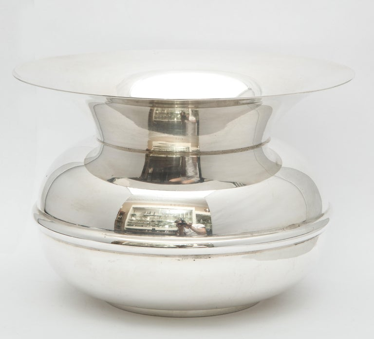 Unusual Mid-Century Sterling Silver Spittoon by Tiffany & Co.  For Sale 2